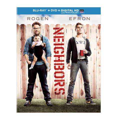 Universal Home Entertainment announces Neighbors on Blu-ray, DVD and DIGITAL HD (PRNewsFoto/Universal Studios ...