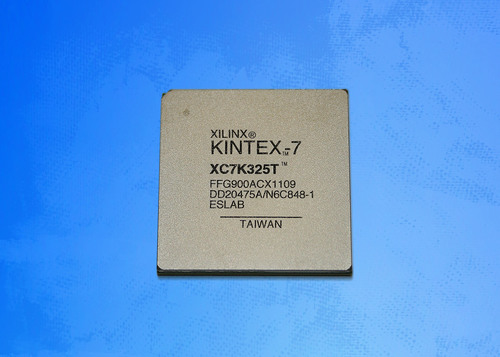 Xilinx ships the first 28nm FPGA, the Kintex-7(TM) K325T Device.  (PRNewsFoto/Xilinx, Inc.)