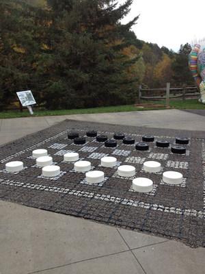 Checkers (PRNewsFoto/Green Way Pavements)