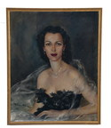This portrait of Bess Myerson, the only Jewish Miss America ever crowned and a TV personality in the 1950s and '60s, is one of many fine appointments from her estate that will be available for auction at a sale presented by Abell Auction Company on May 3 in Los Angeles. The auction is expected to draw an international audience of buyers, with live and online bidding starting at 10 a.m. The sale will feature more than 550 lots of fine art, antiques and other items from estates throughout Southern California.