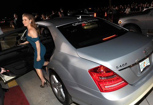 Mercedes-Benz Sets Eco-chic Standard as Hollywood's Green Set Went Gold During 2011 Award Season