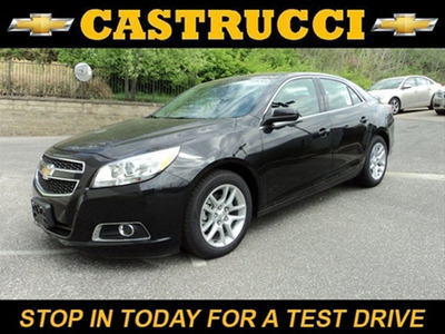 The 2013 Chevy Malibu Eco is in stock now at Mike Castrucci Chevrolet.  (PRNewsFoto/Mike Castrucci Chevrolet)