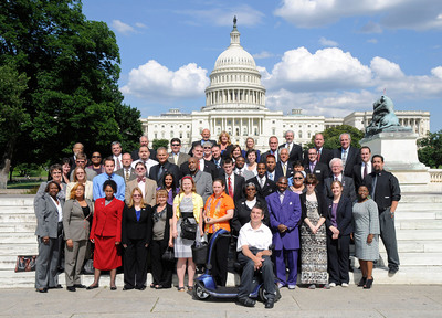 AbilityOne Employees Visit Capitol Hill to Talk Jobs for People with Disabilities.  (PRNewsFoto/AbilityOne)