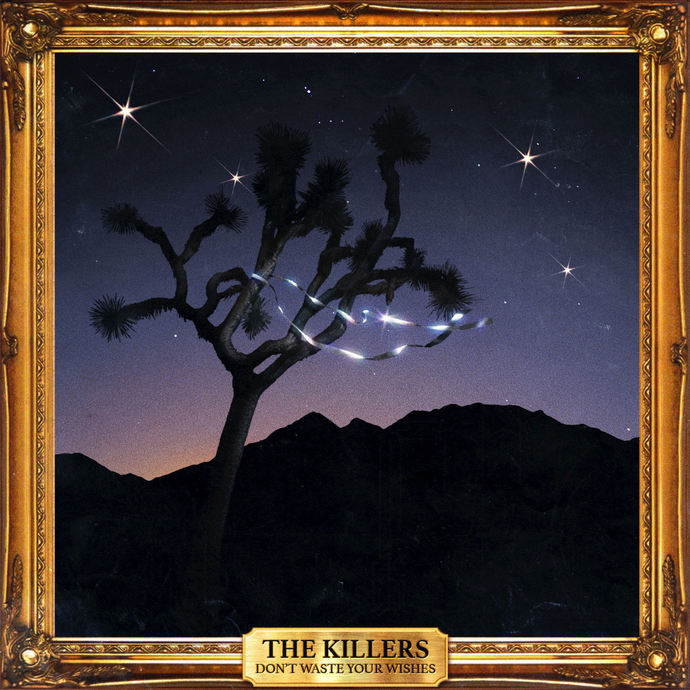 "The Killers Celebrate A Decade Of (RED) Holiday Singles With Release Of New Christmas Album, ""Don't Waste Your Wishes,"" On iTunes"