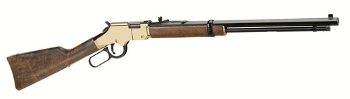 The company's signature model is the award-winning Henry Golden Boy lever-action rifle. (PRNewsFoto/Henry ...