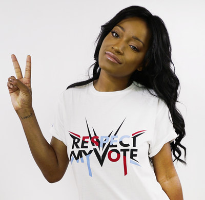 ACTRESS, SINGER AND TALK SHOW HOST KEKE PALMER ANNOUNCED AS SPOKESPERSON FOR THE HIP HOP CAUCUS RESPECT MY VOTE! CAMPAIGN Campaign Designed to Encourage Youth and Communities of Color to Force Change in their Communities through the Power of Voting