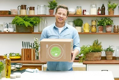 HelloFresh and Jamie Oliver Limited have teamed up to create a new cooking experience to make living a healthy lifestyle easier than ever before