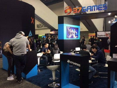 37Games' Booth at GDC 2016