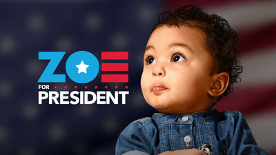 Today, YMCA of the USA (Y-USA) launched Zoe for President, a campaign to elect a one-year-old girl as our nation's Commander in Chief...in 2064. The campaign highlights the potential the Y sees in all kids to grow up and change the world if they're nurtured properly and supported along the way. Through Y initiatives like childcare, academic enrichment, mentorship, college prep, job training, and more, kids have the opportunities to succeed, grow, and one day, maybe even become president.