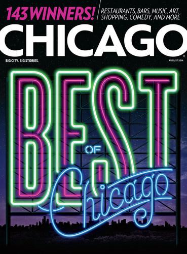 August issue of Chicago magazine (PRNewsFoto/Chicago magazine)