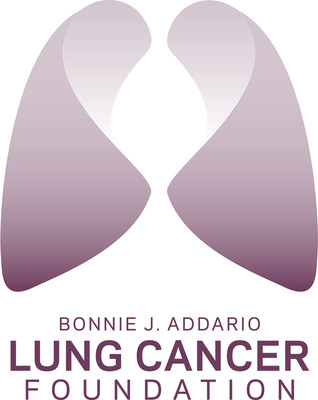Bonnie J. Addario Lung Cancer Foundation logo. (PRNewsFoto/Addario Lung Cancer Foundation)