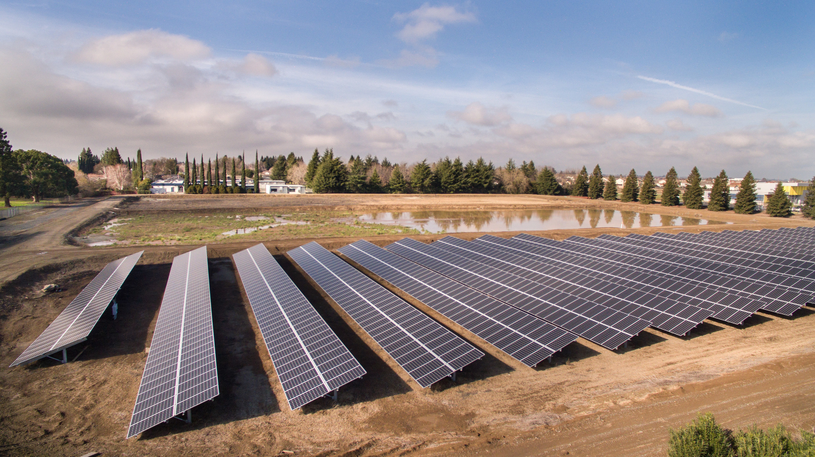Solar installed by OpTerra Energy Services for Yuba City, CA, is part of a larger, comprehensive energy project that will save the City $6 million in energy costs.