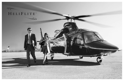 HeliFlite, the premier provider of helicopter transportation in the New York Area introduces new private helicopter airport transfer services into Manhattan.  (PRNewsFoto/HeliFlite)