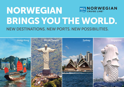 Norwegian Cruise Line announced global deployment expansion, sailing to Asia, The Gulf, India, Australia and New Zealand