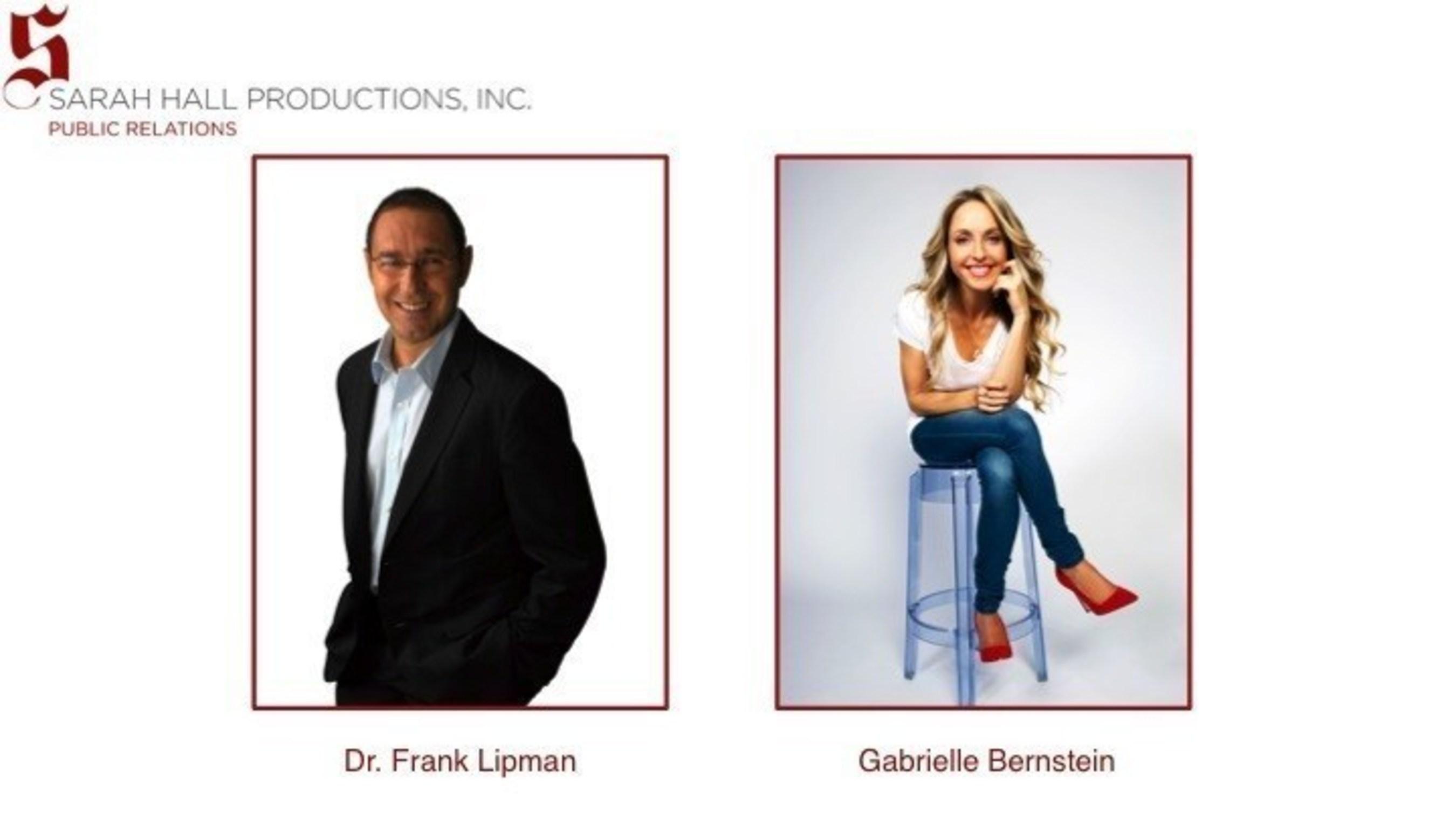 SHP's new clients: Dr. Frank Lipman (L) & Gabrielle Bernstein (R)