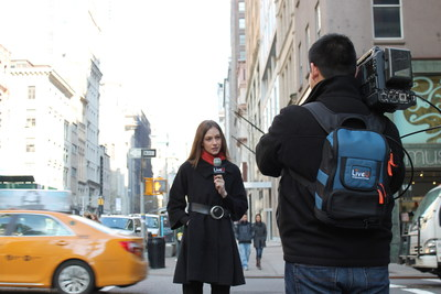 LU500 in New York City (PRNewsFoto/LiveU)
