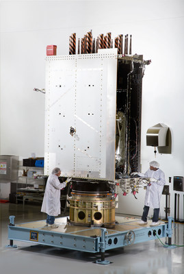 Lockheed Martin recently fully integrated the U.S. Air Force's first next generation GPS III satellite at the company's Denver-area satellite manufacturing facility.  The first in a new design block of more powerful and accurate GPS satellites, GPS III Space Vehicle One is now preparing for system-level testing this summer.
