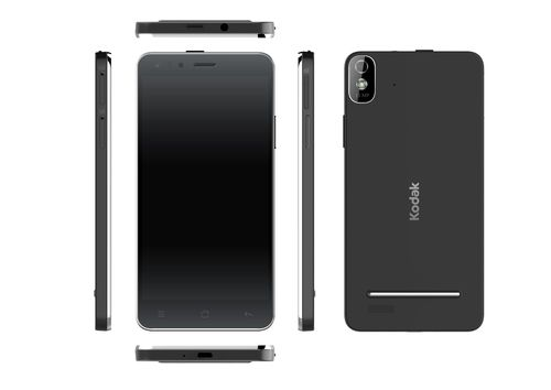 The new Kodak IM5 smartphone; a phone that is as easy to use as it is smart