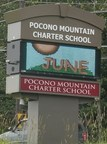 Highway Sign at Pocono Mountain Charter School (PRNewsFoto/Teel Auctions)