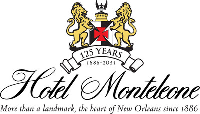 Hotel Monteleone 125th Anniversary Logo.  (PRNewsFoto/Hotel Monteleone)