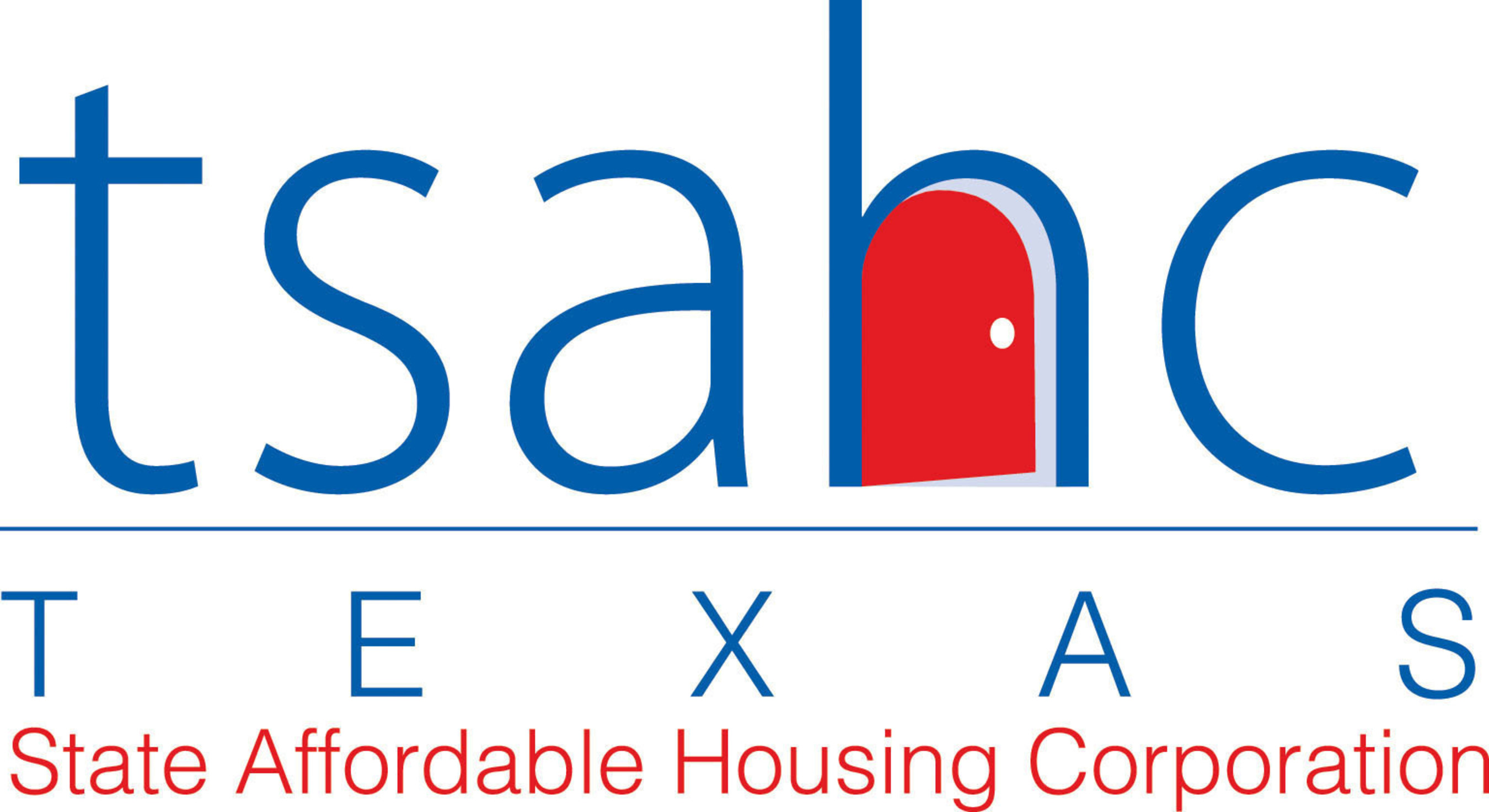 Logo of Texas State Affordable Housing Corporation.