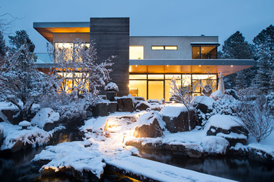 Concierge Auctions Announces The February 27th Auction Without Reserve Of Gan Aden And 32 Albion Place -- Sophisticated Estates Nestled In The Breathtaking Rocky Mountains Of Colorado. (PRNewsFoto/Concierge Auctions) (PRNewsFoto/CONCIERGE AUCTIONS)