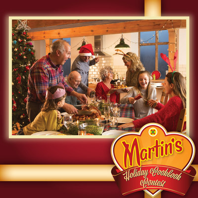 During the months of November and December, Martin's is encouraging participants to submit their favorite holiday recipes to help in the creation of their cookbook, Martin's More than a Meal: Holiday Cookbook.