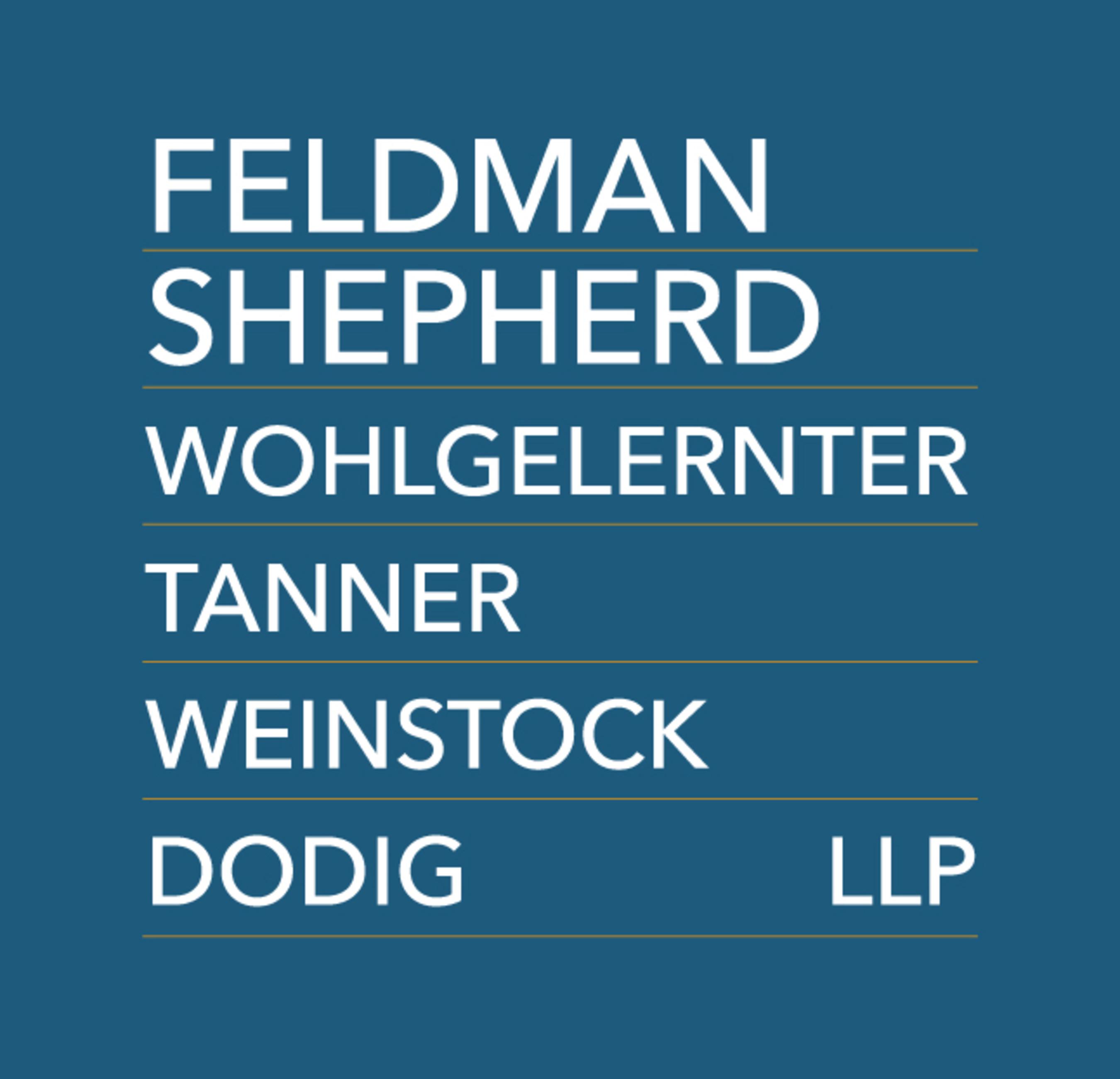 Feldman Shepherd Wohlgelernter Tanner Weinstock Dodig LLP