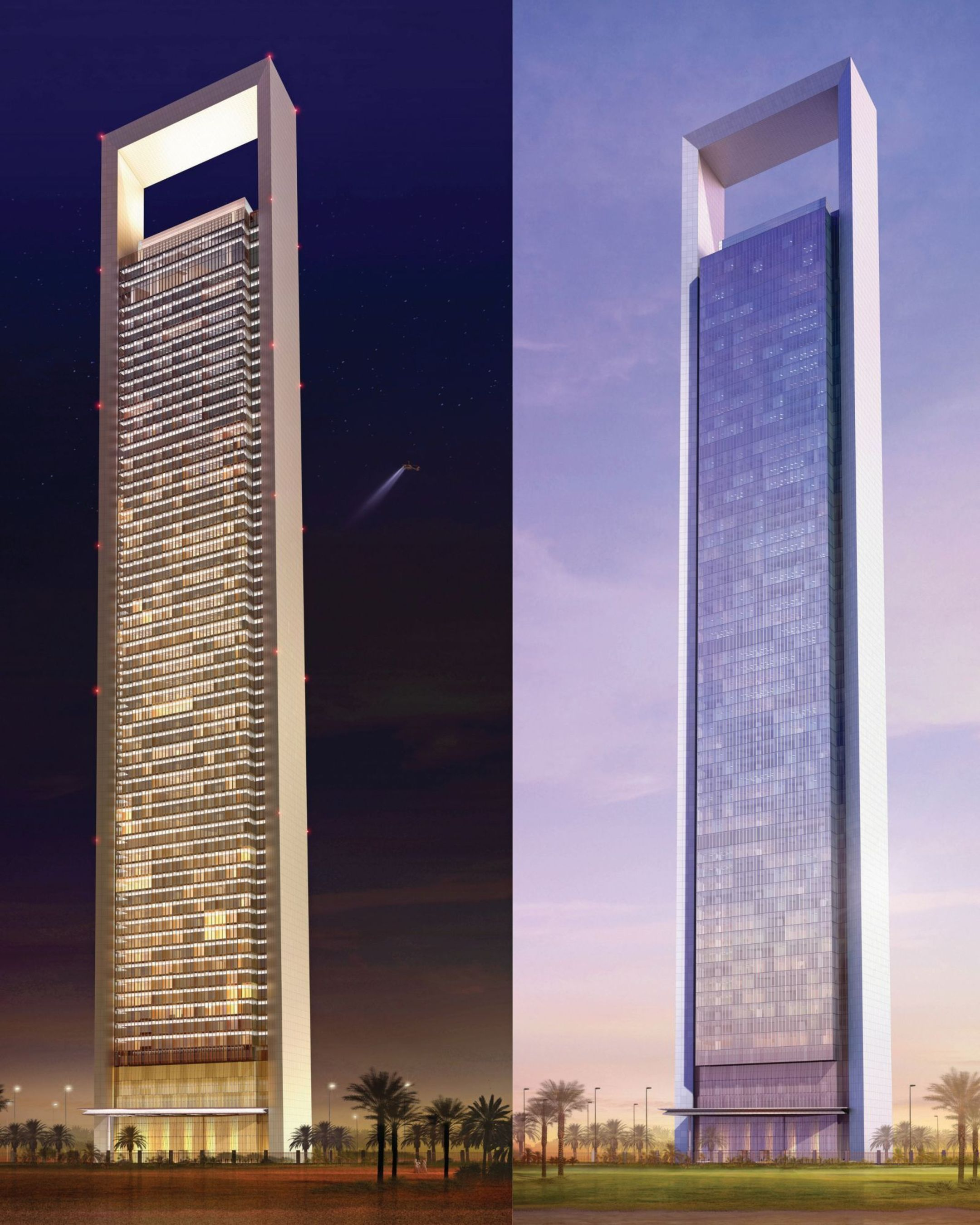 Flying High - GEZE Building Technology in the Second Highest Building in Abu Dhabi