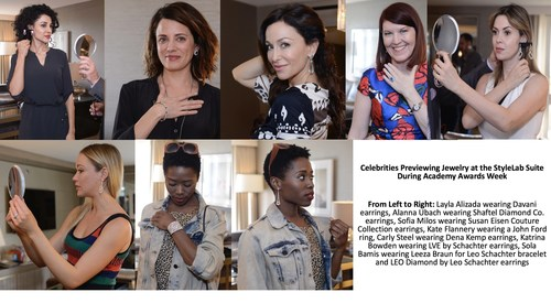 PREPARING FOR THE OSCARS: Celebrities Accessorize with Spectacular Jewelry from the StyleLab Suite