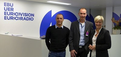 EBU and Mobile Viewpoint join forces in deploying IP bonding technology for live newsgathering and content delivery services. (PRNewsFoto/Mobile Viewpoint)