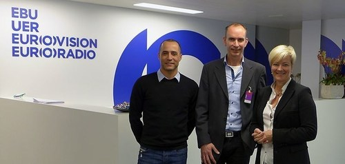 EBU and Mobile Viewpoint join forces in deploying IP bonding technology for live newsgathering and content delivery services. (PRNewsFoto/Mobile Viewpoint) (PRNewsFoto/Mobile Viewpoint)