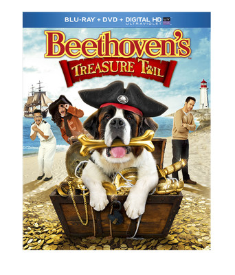 From Universal Studios Home Entertainment: BEETHOVENS TREASURE TAIL