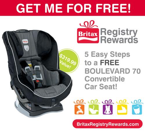 BRITAX Registry Rewards Program Offers Free Car Seat To New Parents
