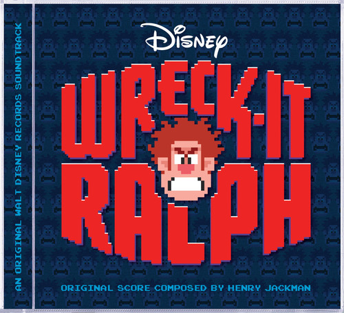 Wreck-It Ralph Original Motion Picture Soundtrack.  (PRNewsFoto/Walt Disney Records)