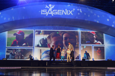 Isagenix Reveals Wish for 11-Year-Old Boy at 2014 Annual Celebration Event