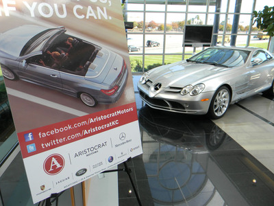The new Aristocrat Motors App can add value to any vehicle owner. (PRNewsFoto/Aristocrat Motors)
