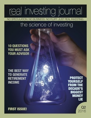 Real Investing Journal Inaugural Cover