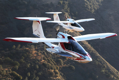 ICON Aircraft Constructs and Flies First Production A5 (PRNewsFoto/ICON Aircraft)