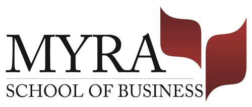 MYRA School of Business Logo (PRNewsFoto/MYRA School of Business)
