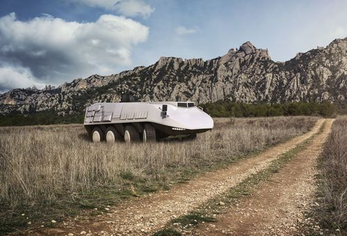 Ramor 450, the latest protection steel from Ruukki, enables manufacture of new types of standard floor structures designed for armoured vehicles. A lighter, optimised frame structure improves also a vehicle's handling characteristics and enables higher payloads.