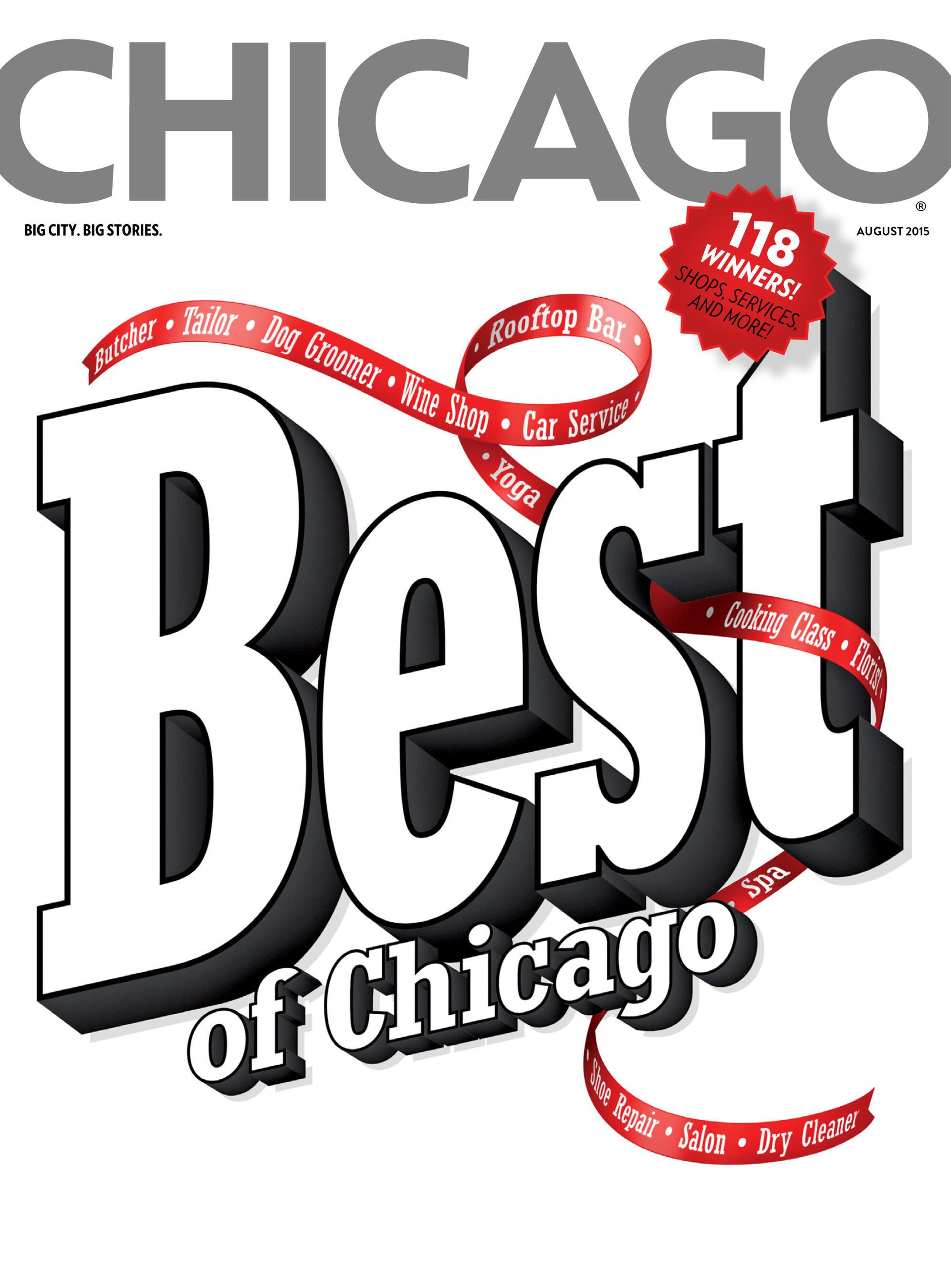 Chicago magazine August Issue: Best of Chicago