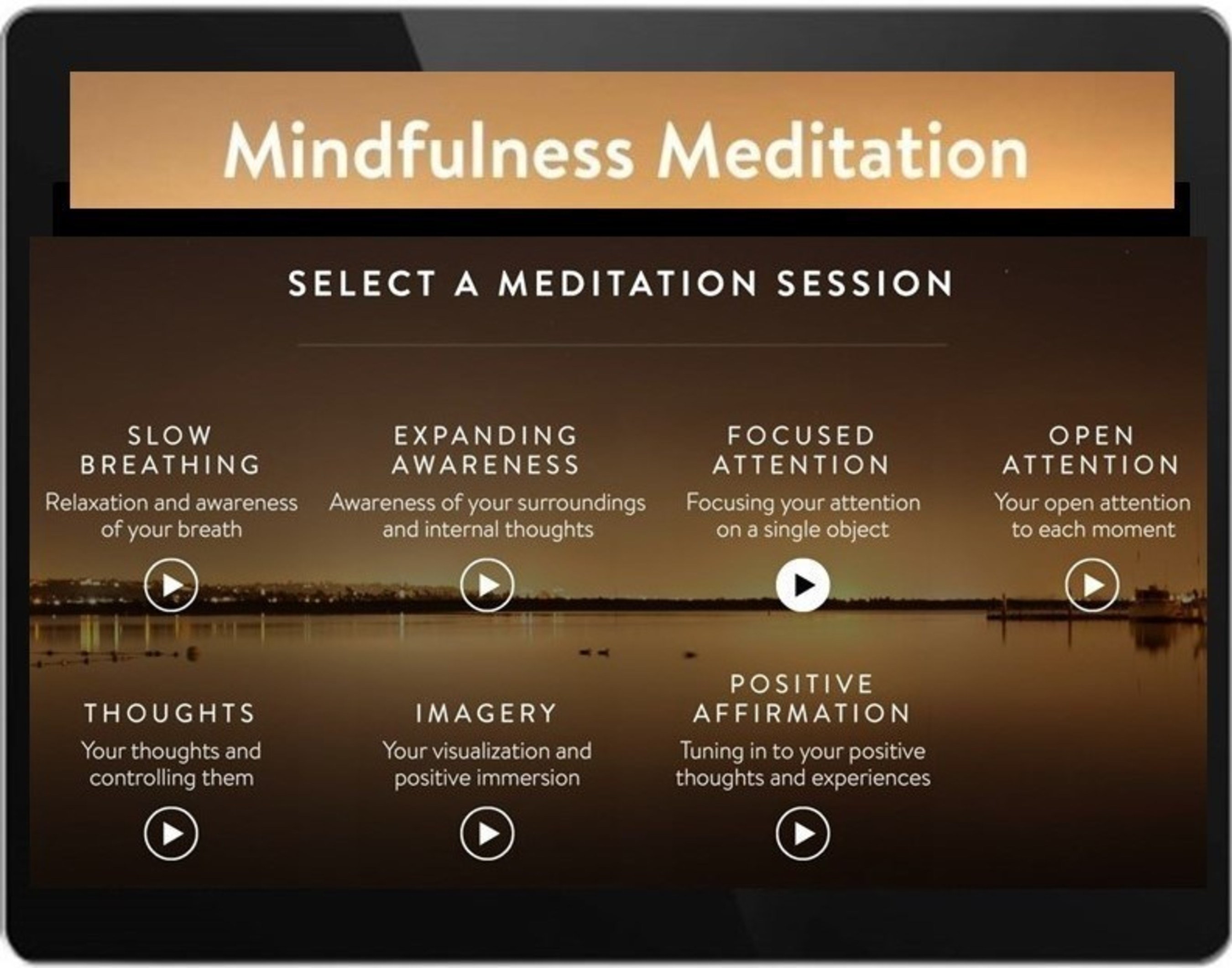 Mindfulness Meditation App by MyBrainSolutions - integrate your brain, integrate your life. Available on iOS and Android.
