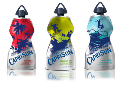 New CAPRI SUN juice drink Big Pouch.  (PRNewsFoto/Kraft Foods)