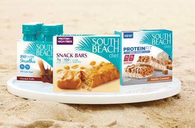 South Beach Diet, the trusted choice for millions seeking a total solution for losing weight and gaining health, is bringing a bold new idea to healthy living and dieting with strategic snacking(TM).  (PRNewsFoto/South Beach Diet)