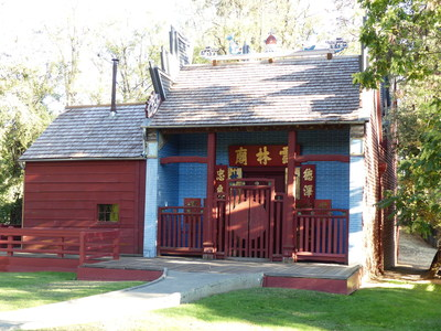 Photo credit: Jeri Rangel. The Joss House is part of the rich history to be found in Redding and Shasta Cascade, CA.