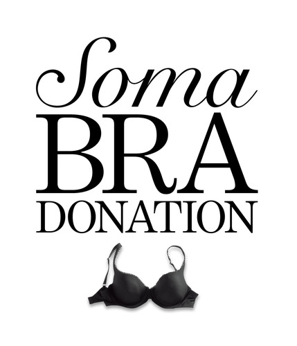 Soma Intimates Bra Donation - Giving Is Beautiful.  (PRNewsFoto/Soma Intimates)