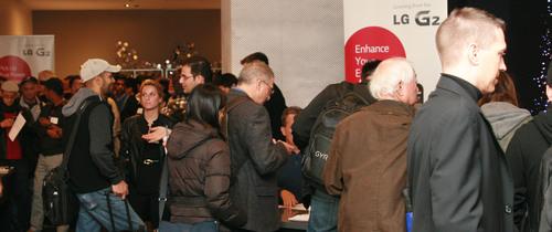 LG Android Developers' VIP Event in San Francisco. (PRNewsFoto/LG Electronics USA) (PRNewsFoto/LG ELECTRONICS USA)