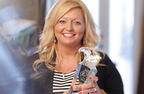 Eagle Rare's 2014 Rare Life Award goes to Angie Goodwin of Thumbs Up for Lane.  (PRNewsFoto/Eagle Rare Bourbon)