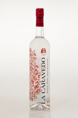 La Caravedo pisco, A pisco puro made from estate-grown Quebranta grapes